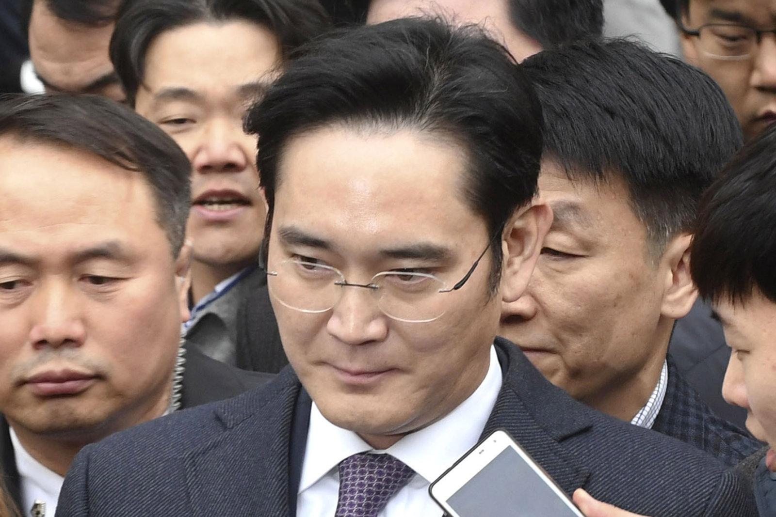Corte recusa pedido de prisão de chefe da Samsung