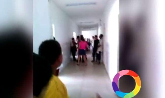 Paciente é empurrado contra parede por PM durante discussão no Cais de Campinas
