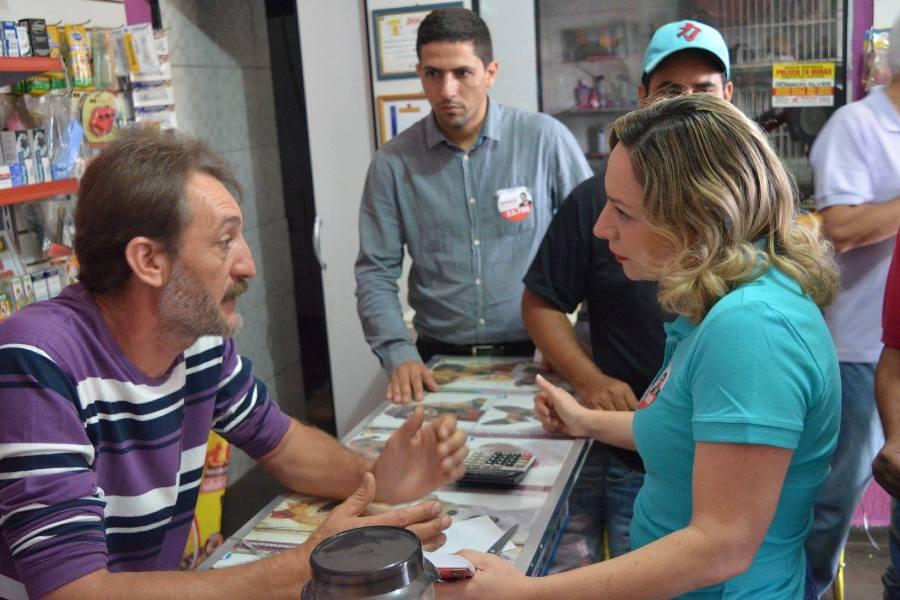 """""""História de Goiânia e do Partido dos Trabalhadores estão juntas"""", afirma Adriana Accorsi"""