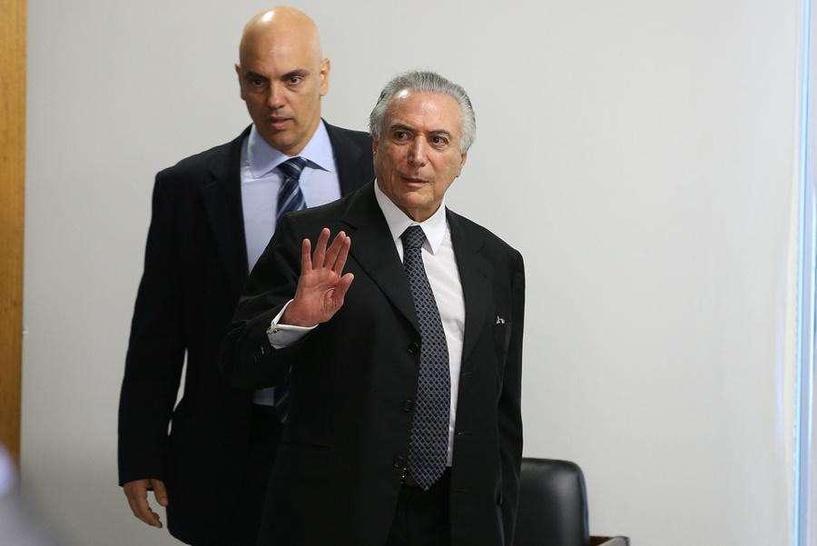 Temer anuncia criação de departamento na PF para combater crimes contra mulher