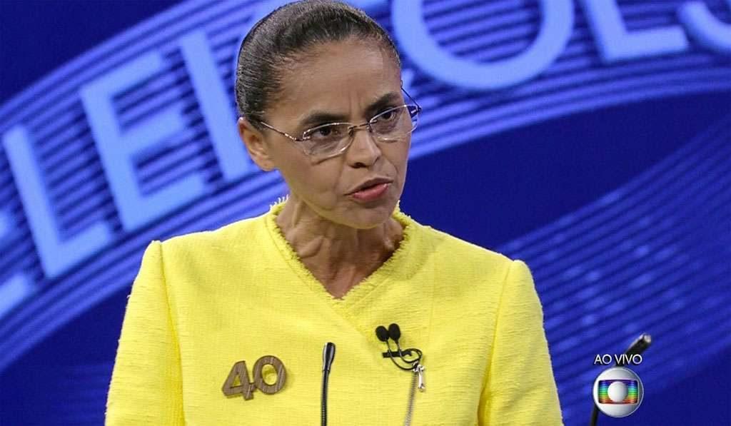 Dilma e Marina trocam farpas ao final do tempo previsto