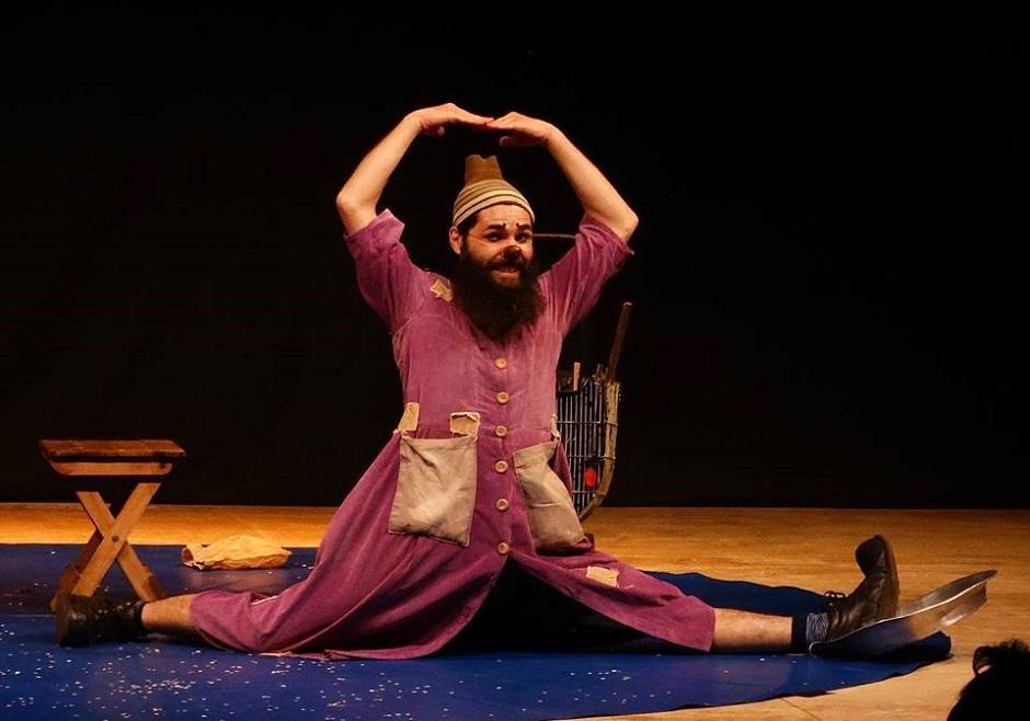 Companhia teatral paulista apresenta espetáculo Circo de Dois