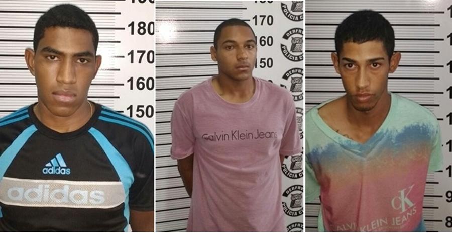Polícia Civil prende três suspeitos por roubos a HB-20