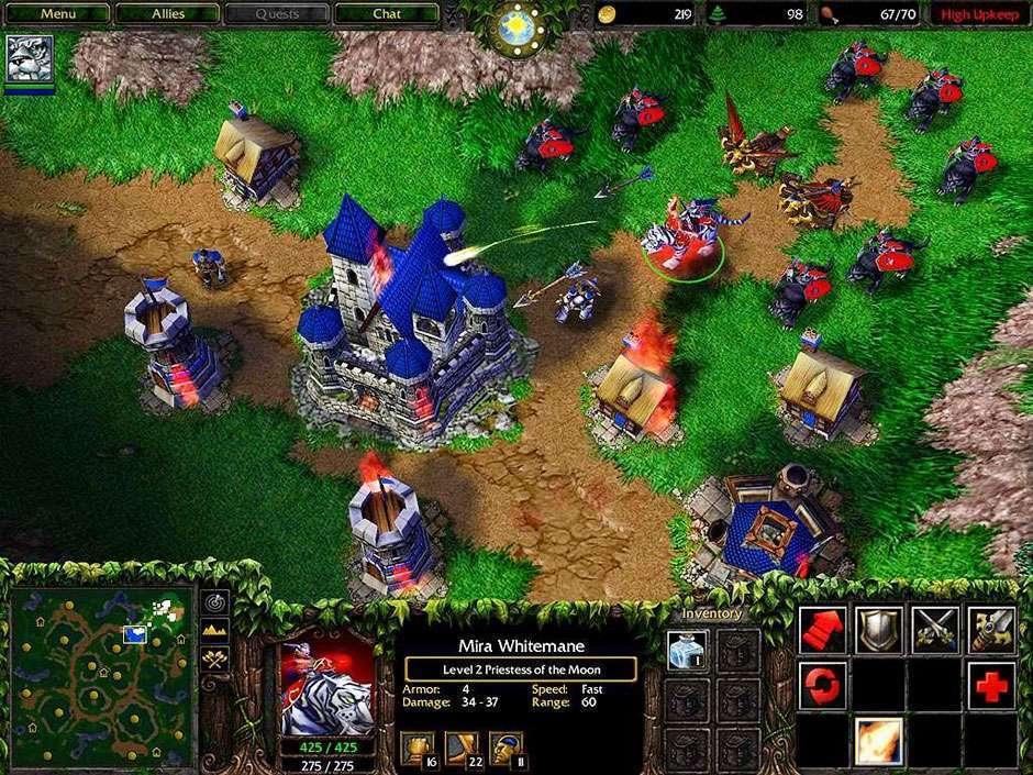 Warcraft III também ganha atualização