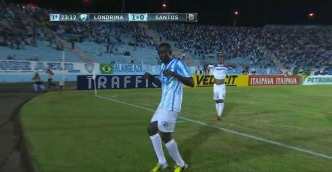 Reservas do Santos perdem para o Londrina