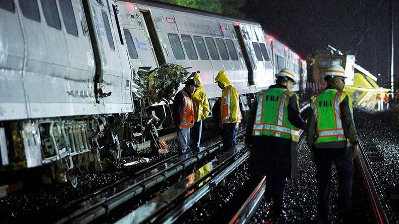 Acidente com trens em Nova York deixa 33 pessoas feridas