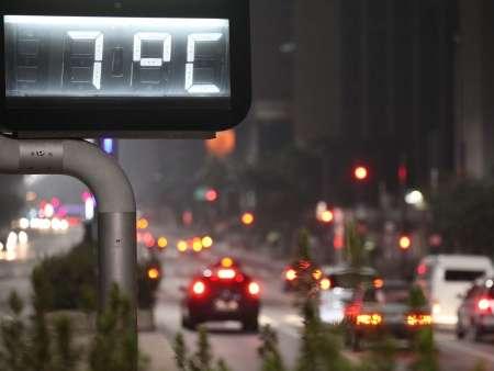 São Paulo terá madrugada com frio recorde, prevê Climatempo