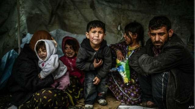 ONU: número de refugiados é o maior desde a Segunda Guerra Mundial