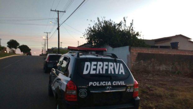 PC realiza operação para desarticular quadrilha de roubo de carros em Goiânia