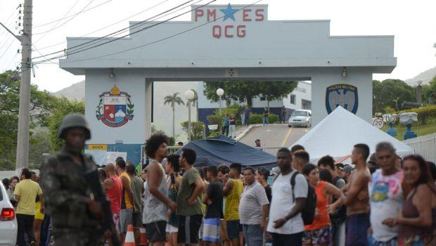 Justiça militar do Espírito Santo decreta a prisão de 4 policiais por motim