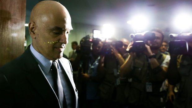 Cidadãos podem fazer pergunta para Moraes em sabatina no Senado
