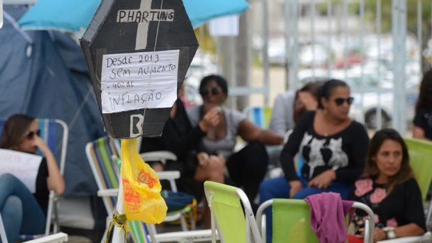 Termina sem acordo reunião entre governo e mulheres de PMs no Espírito Santo