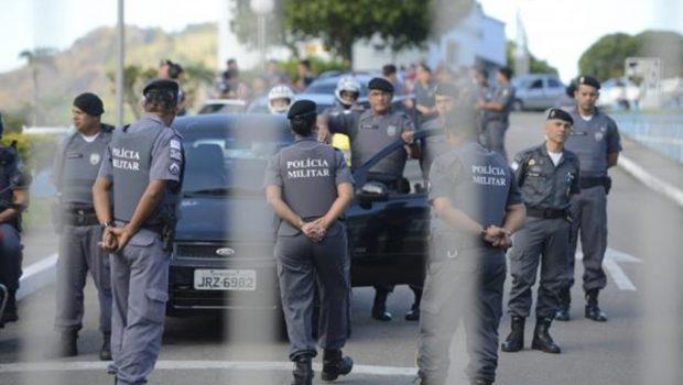 Grupo de PMs começa a voltar às ruas de Vitória