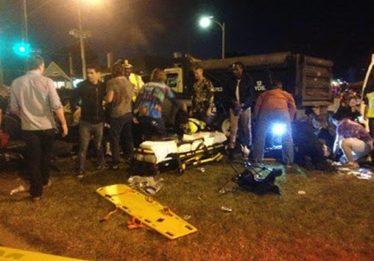 Caminhonete atropela multidão e deixa 28 feridos no carnaval de Nova Orleans