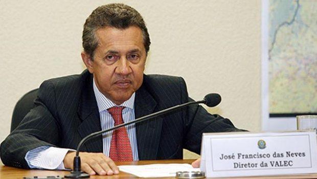Ex-presidente da Valec Juquinha das Neves é preso preventivamente