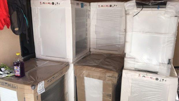 PM prende estelionatários que compravam e revendiam eletrodomésticos na internet
