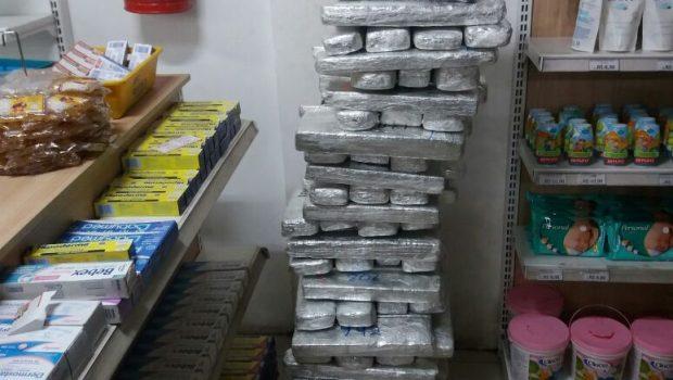 Seis pessoas são presas com mais de 100 kg de drogas em Aragarças
