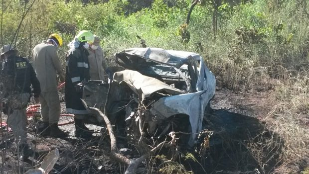 Acidente deixa nove pessoas mortas na BR-020, em Alvorada do Norte