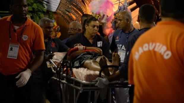 Duas vítimas de acidente com carro da Unidos da Tijuca permanecem em observação