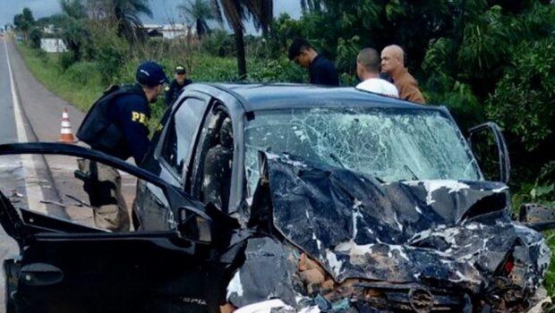 Duas pessoas morrem em acidente na BR 020, em Formosa
