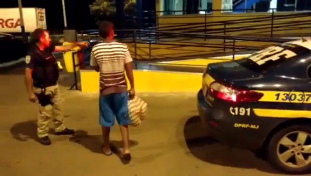 Menor foge de casa, em Morrinhos, e é resgatado pela PRF em Piracanjuba
