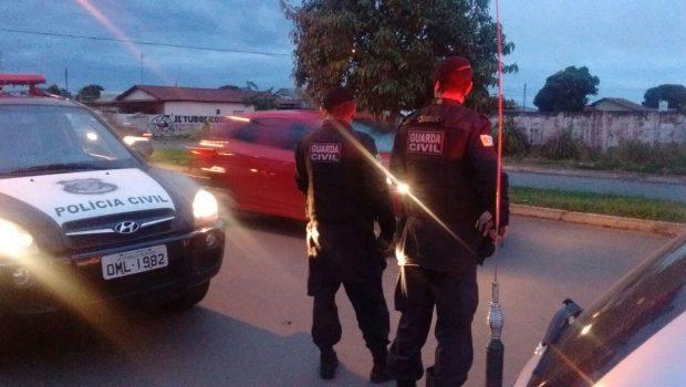 GCM e polícias Civil e Militar se unem em operação em Aparecida de Goiânia