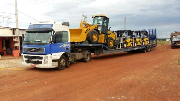 Carga de maquinas agrícolas avaliada em R$ 1 milhão é recuperada