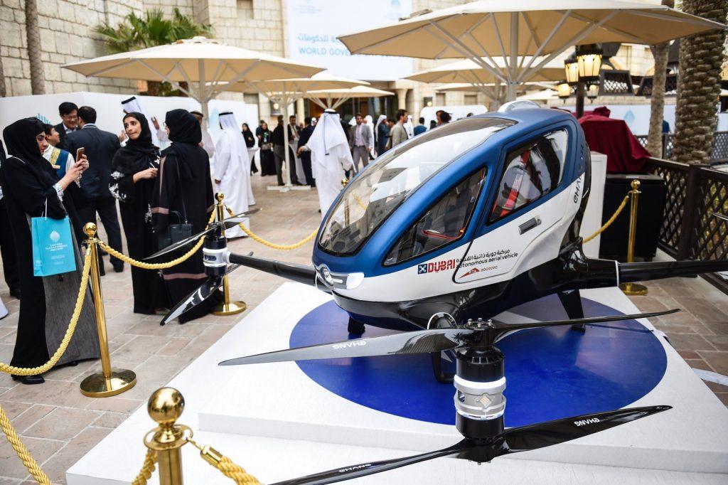 Dubai será a primeira cidade a ter transporte por táxi aéreo autônomo