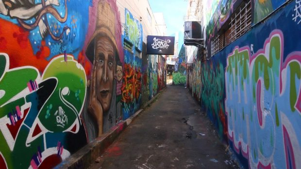 """""""Em Goiânia ninguém gosta do grafite. As pessoas na verdade gostam do barulho que o grafite faz"""""""