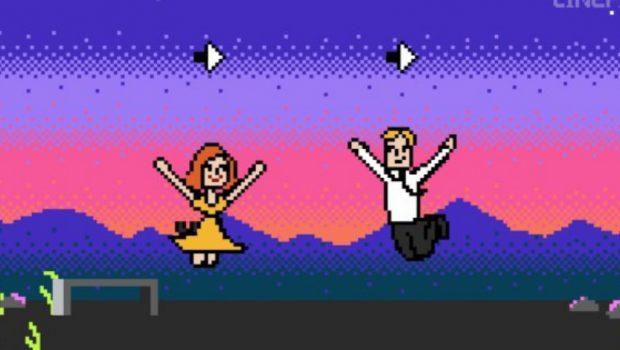 """""""La La Land"""" ganha versão de game em 8bits. Confira:"""