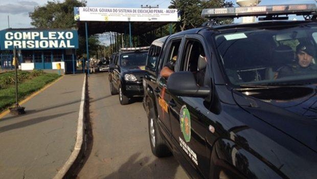 Servidor é preso ao tenta entrar com droga em presídio de Aparecida de Goiânia