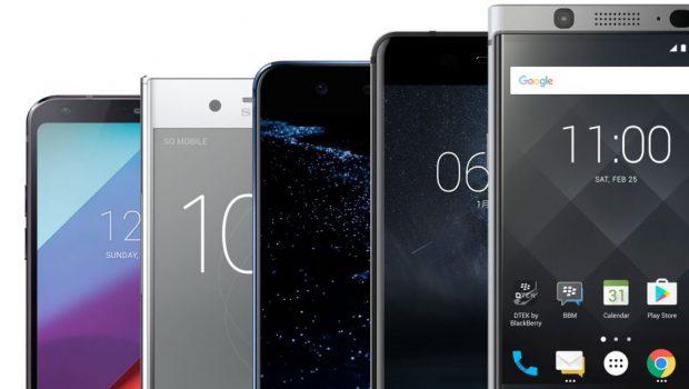MWC 2017: LG G6, Mi 5c, Moto G5 e outros destaques na feira