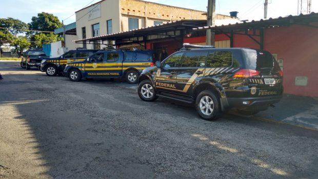 Polícias fazem megaoperação contra o roubo de cargas