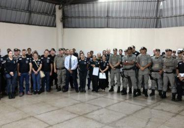 PC e PM realizam ação de combate ao tráfico de drogas na região oeste da capital