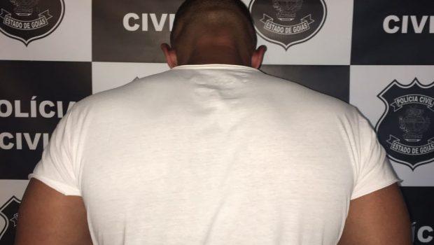 Personal trainer é preso em Caldas Novas por suspeita de abusar de menina de 11 anos