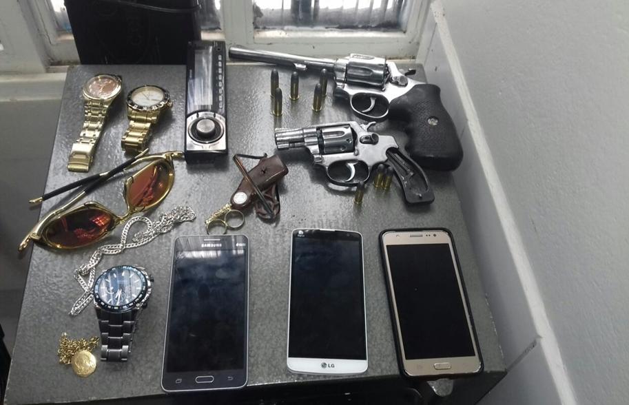 Polícia Civil desarticula quadrilha especializada em roubos em Goianésia