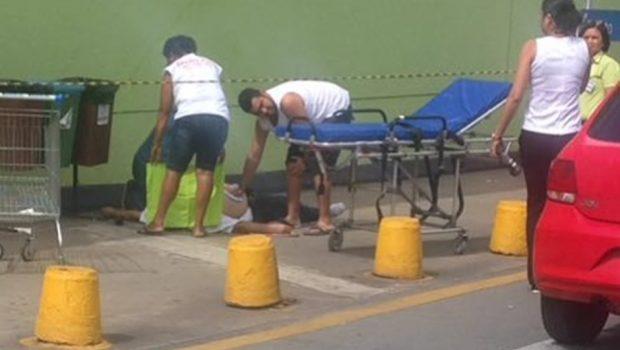 Três pessoas são baleadas dentro do Supermercado Carrefour da Avenida T-9, em Goiânia