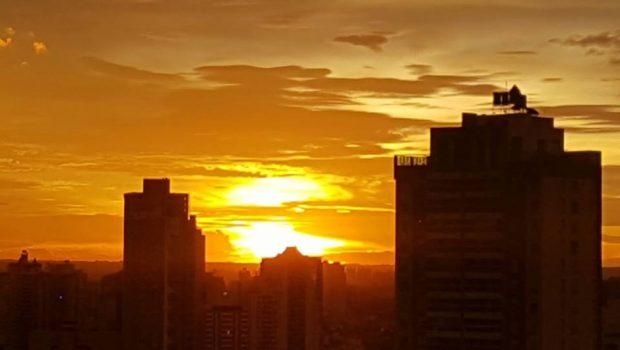 Máxima em Goiânia pode chegar aos 34°C nesta quarta-feira