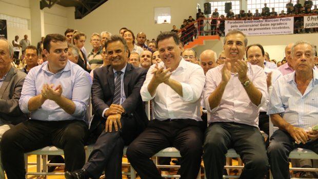 Aécio avaliza nome de José Eliton para disputa do governo em 2018