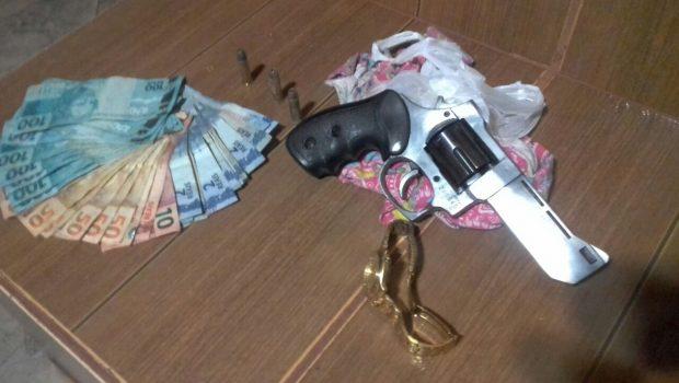 PM prende em flagrante autor de roubo em Mozarlândia