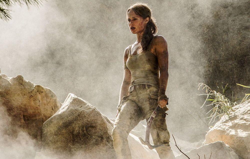 Divulgadas as primeiras imagens oficiais de Alicia Vikander em Tomb Raider