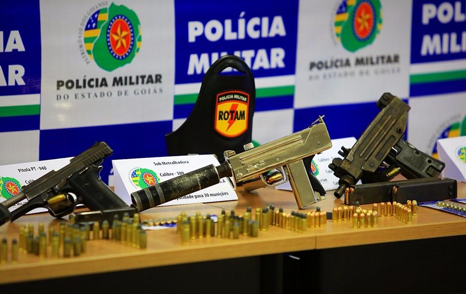 PM apreende 54 armas de fogo em três dias