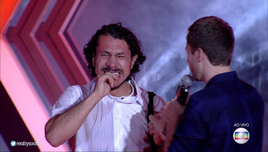 Rômulo é o oitavo eliminado do BBB 17, com 65,12% dos votos