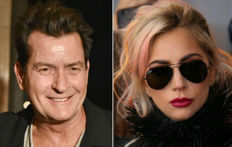 Lady Gaga planejou um videoclipe sensual com Charlie Sheen, Lindsay Lohan e Britney Spears