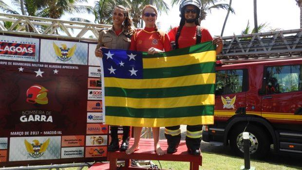 Bombeiras goianas conquistam primeiro lugar em competição em Maceió