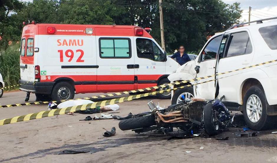 Motociclista morre em acidente na Perimetral Norte, em Goiânia