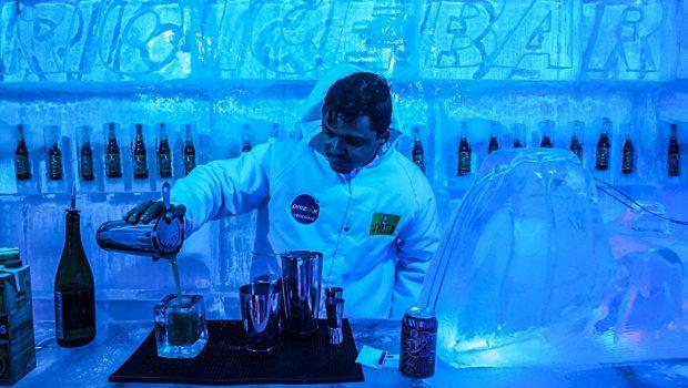 """Goiânia recebe dois """"bares de gelo"""" com temperaturas até -15 ºC"""