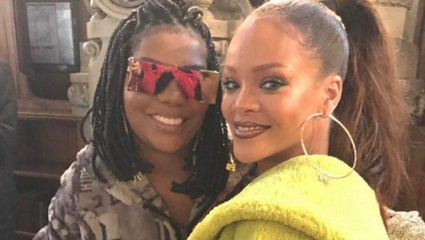 Ludmilla se encontra com Rihanna em Paris e registra momento nas redes sociais