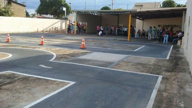 Detran-GO inaugura nova pista de prova em Minaçu