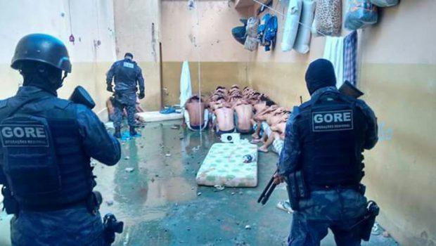 Detentos fazem motim após ter fuga frustada no presídio de Catalão